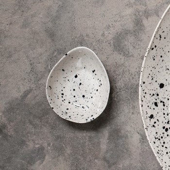 Ama Dipping bowl, D3.5 x 10cm, splatter
