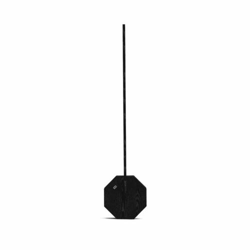 Octagon Desk light, L8.5 x W4 x H38cm, Black Marble