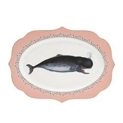 Whale Platter, W24 x L36cm