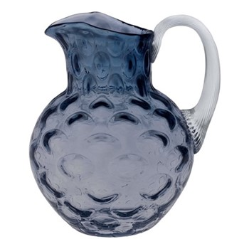 Olive Jug, 1 Litre, blue smoke