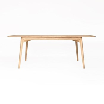 Dulwich Extending dining table, H74.5 x W158 x D90cm, oak