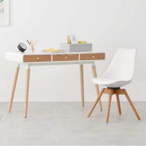 Thelma Office chair, H84 x W49 x D54cm, White