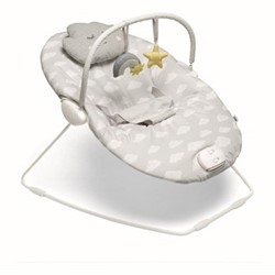 Capella - Cloud Bouncing cradle, white/grey