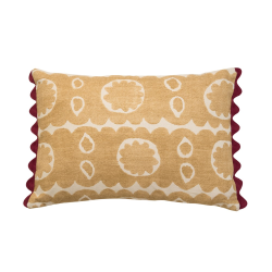 Osborne Cushion, 35 x 50cm, Yellow