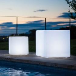 Cube Mini Lamp, L30 x W30 x H30.5cm, white