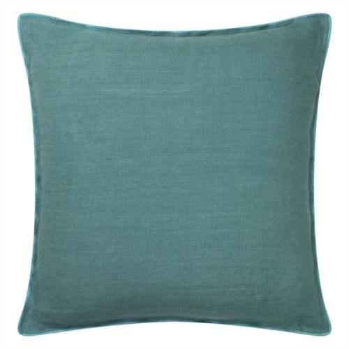 Brero Lino Cushion, H45 x W45cm, Ocean