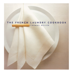 French Laundry Cookbook - Thomas Keller