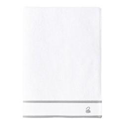 Flandre Bath towel, 70 x 140cm, platine