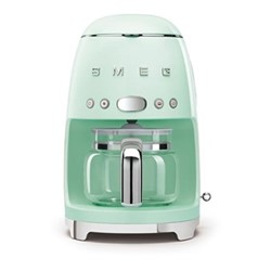 50's Retro Style Drip coffee machine, H33 x W15.5 x D33cm, pastel green