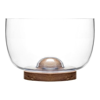 Nature Large serving bowl, Dia22 x H15cm, oak