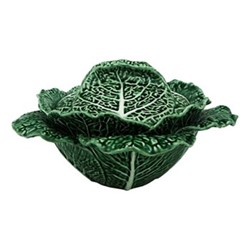 Cabbage Tureen, 2 litre - 33 x 13.5cm, green