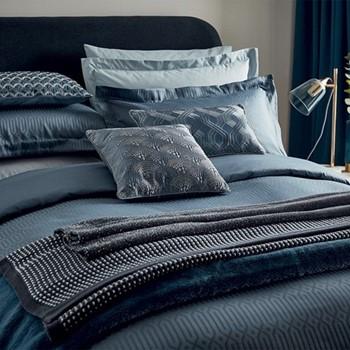 Rivage King size duvet cover, L220 x W230cm, blue