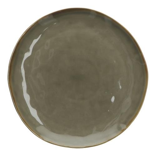 Concerto Set of 4 dinner plates, Dia27cm, Grey