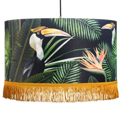 Birds of Paradise Pendant Lamp, H22 x Dia35cm