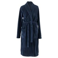 Einar Bath gown, medium, indigo