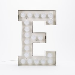 Vegaz E Letter light, H60cm
