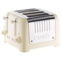 Lite 4 slot toaster, Cream