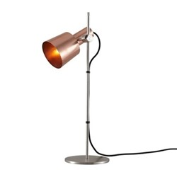 Chester Table light, H57 xW17cm, satin copper
