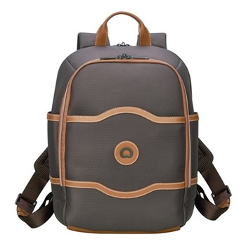 Chatelet Air Soft 2 compartment backpack, H41.5 x L31.5 x D17.5cm, chocolate