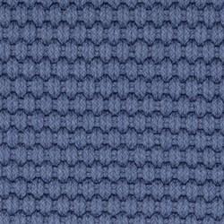Rope Polypropylene indoor/outdoor rug, W76 x L244cm, denim