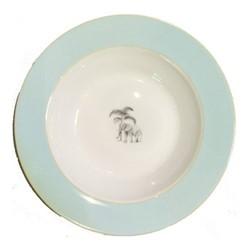 Harlequin - Blue Elephant Soup bowl, D22cm, blue