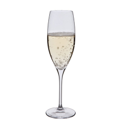 Wine Master Pair of Champagne flutes, 200ml, Clear