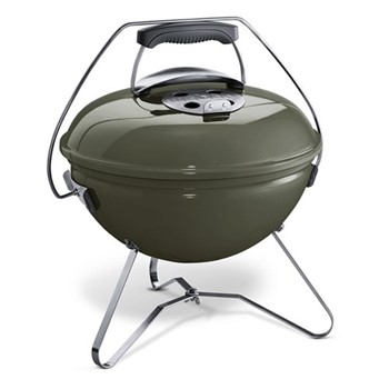 Smokey Joe Premium charcoal portable bbq, 37cm, smoke grey