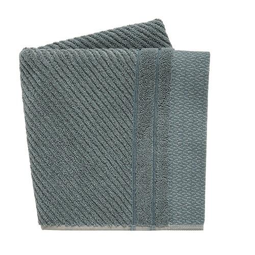 Ripple Bath Towel, L130 x W70cm, Lough Grey