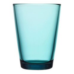 Kartio Pair of tall tumblers, 40cl, sea blue