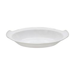 Astoria Oval gratin dish, 33cm, white