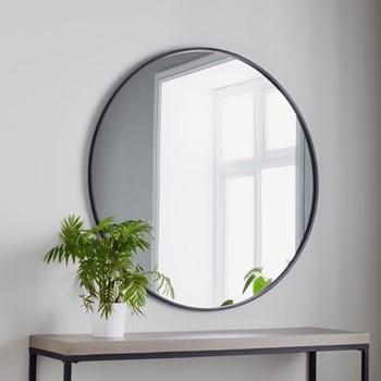 Round mirror L100 x W100 x D2cm