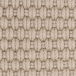 Rope Polypropylene indoor/outdoor rug, W61 x L91cm, platinum