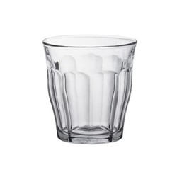 Picardie Set of 6 glass tumblers, D9 x H9.4cm - 31cl, clear glass