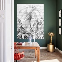 Art - Ferns Wall decoration, 180 x 240cm