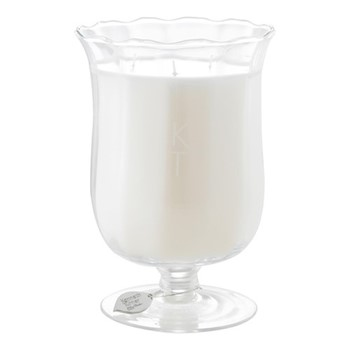 Celebration Scented candle in bouquet vase, H20 x D14cm, ivory
