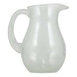 Jug, H20 x D15cm - 1500ml, pearl white