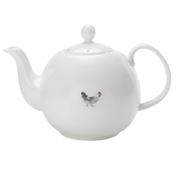 Chicken Teapot 4 cup, 1 litre