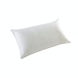 Luxury King size pillow, L50 x 90cm - Medium/Firm, White