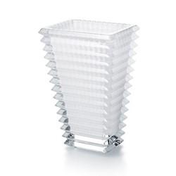 Eye Rectangular vase, H20 x W9.9 x L13.7cm, white