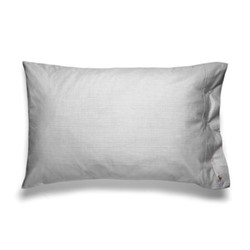 Oxford Pair of king size pillow cases, 50 x 90cm, charcoal