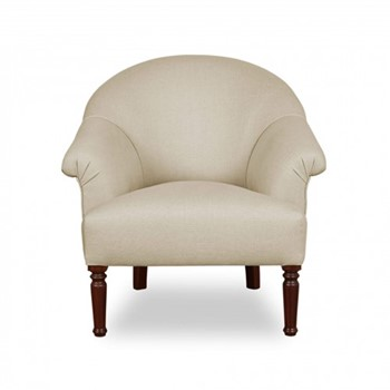 Spoon Armchair, W183 x D76 x H81cm, cream