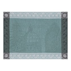 Symphonie Baroque Set of 4 placemats, 54 x 38cm, smoke