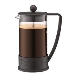 Brazil 8 cup coffee maker, 1 litre, black