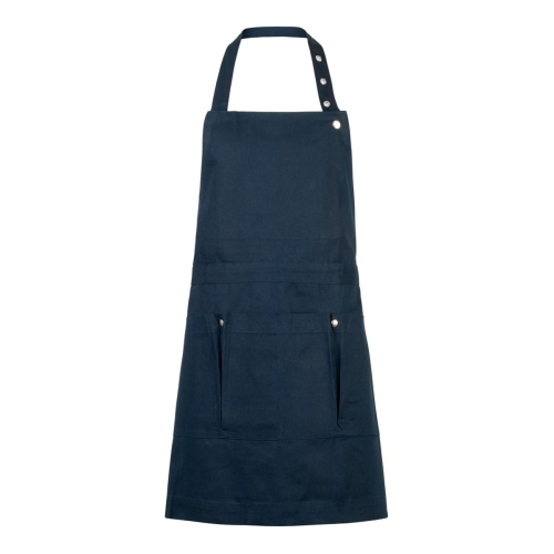 Canvas Creative and garden apron, 100 x 74cm, Dark Blue