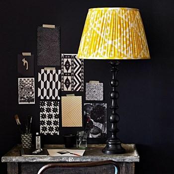 Paradiso Table lamp - base only, H58 x W15cm, ebony
