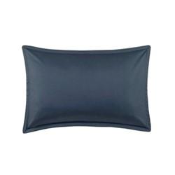 Teo Oxford pillowcase, W75 x L50cm, slate blue