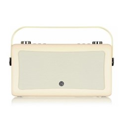 Hepburn Mk II DAB radio, H17 x W31 x D9cm, cream