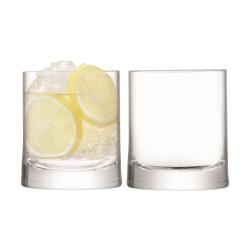 Gin Pair of tumblers, 310ml, clear