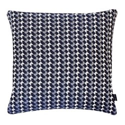 Belo Large square cushion, 56 x 56cm, blue
