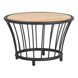 Cordial Side table, 60cm, grey/oak